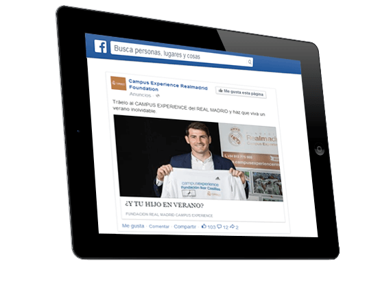 Facebook Ads Campus Experience